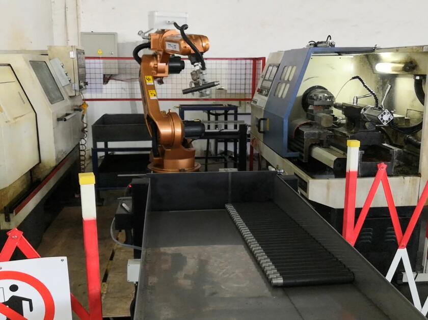 自动上下料机器人系统工作站